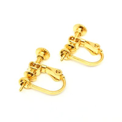 clip on pearl earrings settings